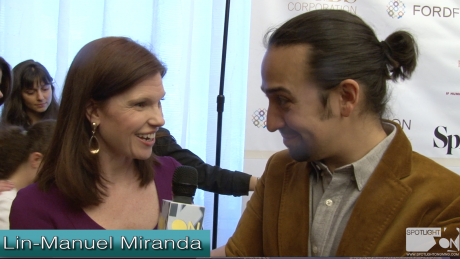 Lin-Manuel Miranda & Luis Miranda Spotlight On Girl Be Heard